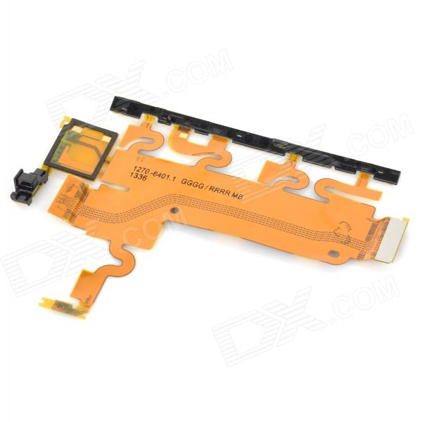 Replacement Large PVC + PCB FPC Cable for Sony Z1 / L39h - Golden