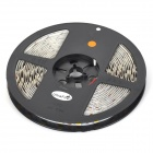 UltraFire 72W 3000lm 3500K 300-SMD 5050 LED Warm White Light Strip - Black + White (DC 12V)