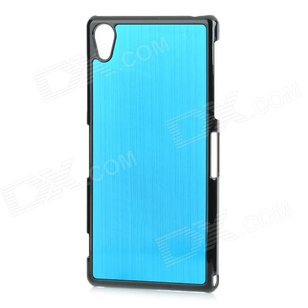 YI-YI Protective Aluminum Alloy Back Case for Sony Xperia Z2 / L50w - Blue