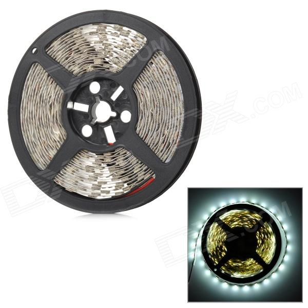UltraFire G-5050 72W 3000lm 6500K 300-SMD 5050 LED White Light Strip - Black + White (DC 12V)