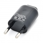 Monie Universal USB de 5V 1.5A Plug Power Adapter EU - Preto (110 ~ 240V)