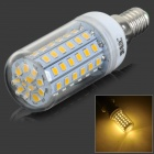 JRLED E14 8W 520LM 3300K 72-2835 SMD LED Warm White Light Bulb (AC 220~240V)