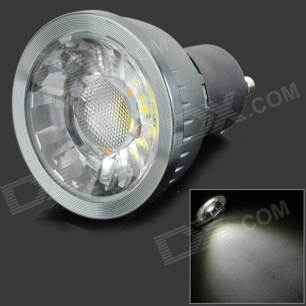 HH28 GU10 3W 180LM 8000K COB LED Cool White Light Lamp / Spotlight - Black + Dark Grey (AC 85~265V) led 5001 9w 450lux 3 led video lamp dark grey