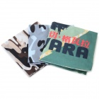 Sports de plein air multifonctionnel tête Polyester sans couture Scarf - Camouflage + multicolores (3 PCS)
