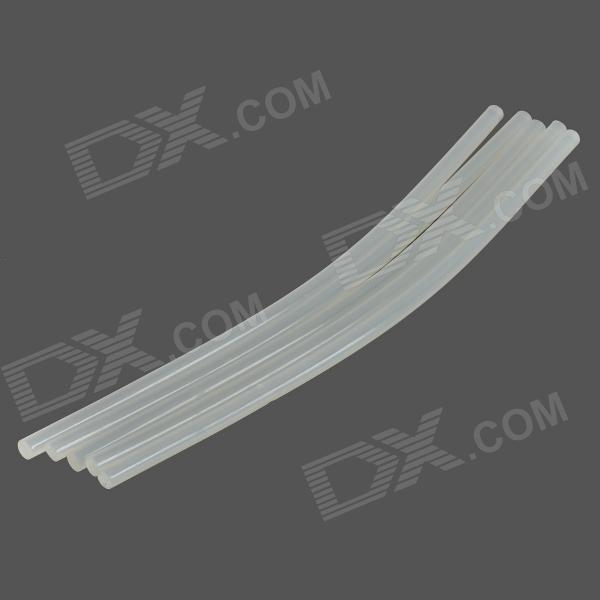 0.7x27cm PU Resin Hot Melt Adhesive Glue Stick - Translucent White (5PCS)