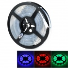JRLED 60W 3300lm RGB 150-5050 SMD LED RGB Light Strip - White + Black (AC 100~240V / 5m)