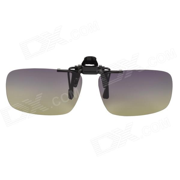OREKA 209 Clip-on Polarized PC Frame Resin Lens - Gradually Dark Green