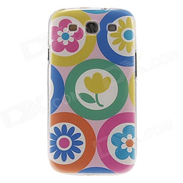 Kinston Multiple Flowers Pattern Plastic Protective Hard Back Case Cover for Samsung Galaxy S3 i9300 kinston colorful flowers and butterflies pattern plastic protective case for samsung galaxy s3 i9300
