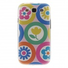 Kinston Multiple Flowers Pattern Plastic Protective Hard Back Case Cover for Samsung Galaxy S3 i9300