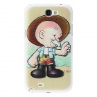 Kinston Farmer Pattern Hard Case for Samsung Galaxy Note 2 N7100