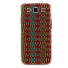 Kinston Colorful Rhombus Pattern Plastic Protective Hard Back Case Cover for Samsung Galaxy S3 I9300