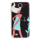 Kinston Blond Girl Pattern Hard Case for Samsung Galaxy S4 i9500