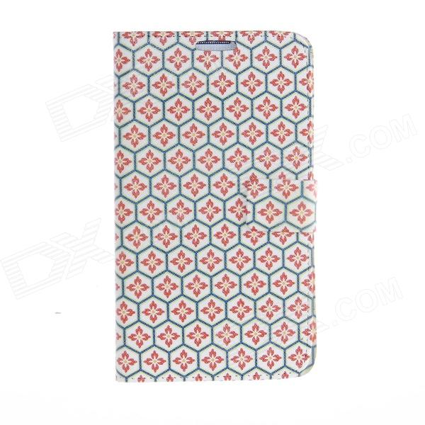 Kinston Honeycomb Lattice Pattern PU Leather Full Body Case for Samsung Galaxy Note 3 kinston colorful star pattern pu leather full body case for samsung galaxy note 3 white pink