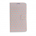 Kinston Honeycomb Lattice Pattern PU Leather Full Body Case for Samsung Galaxy Note 3