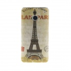 Kinston Eiffel Tower Pattern TPU Soft Case for HTC One M7