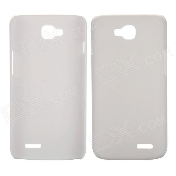 где купить EPGATE A00487 Protective Plastic Back Case for LG Optimus L90 D410 D405 - White дешево