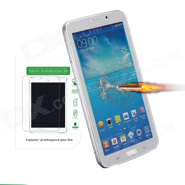 Angibabe Tempered Glass Screen Protector Film  for Samsung Galaxy Tab 3 7.0 T210 T211