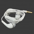 4-i-1 nätadapter + billaddare + Datakabel + In-Ear Headset w / Mic för Samsung - Vit