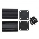 MaiTech Aluminum PCB / Receiver Shell / Junction Box - Black
