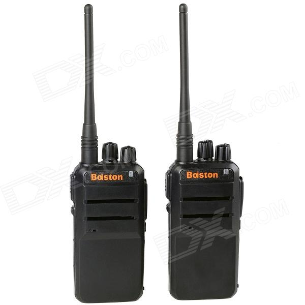Baiston BST-560 Super Slim älykäs siru 5W 400 ~ 490MHz Walkie Talkie (2 kpl)