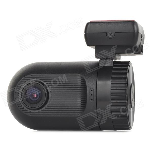 "mini vidvinkel 1080P 5.0MP CMOS 1,5"" TFT bil DVR w / GPS / mic / TF / AV-OUT / HDMI - svart"