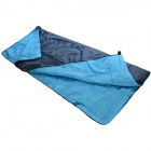 Outdoor Camping Polyester Sleeping Bag - Dark Blue