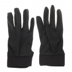 Outdoor Climbing Cycling Full Finger Breathable Gloves - Black (XL / Pair)