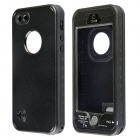 Redpepper Case CM01 Waterproof Case w/ Touch ID, Metallic Speaker Design for IPHONE 5 / 5S - Black