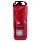 Outdoor Waterproof Emergency Medical Kits Bag - Red