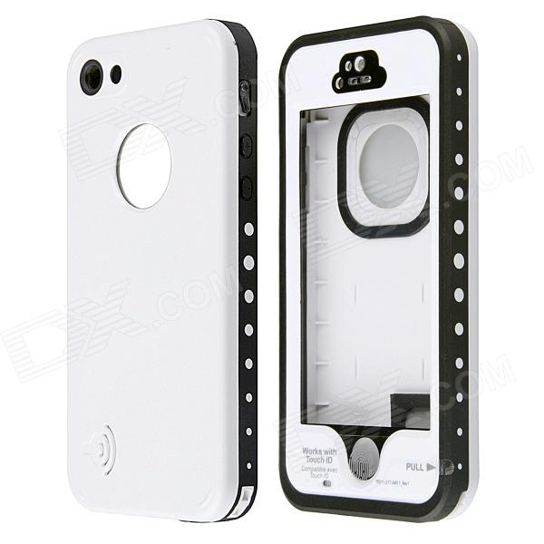 Redpepper CM01 Waterproof Case w/ Touch ID and Metallic Speaker Design for IPHONE 5 / 5S - White