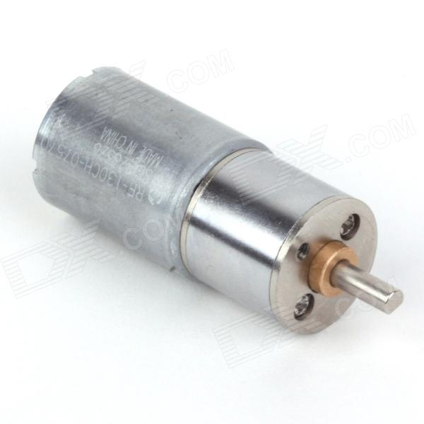 ZnDiy -BRY 16GA-15-round DC 12V 15rpm Geared Motor - Silver new original xsda600539 warranty for two year