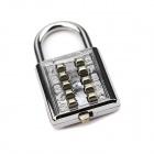 NC-18 Anti-Theft Mechanical Combination Lock - Silver + Golden