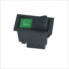 Carking DC 12V On/Off 2 Position Car Truck Fog Light Snap Rocker Switch Button  - Black + Green