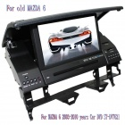 "LsqSTAR 7 ""DVD-плеер автомобиля ж / GPS, МЖК, Радио, RDS, AUX, CAN BUS, 6CDC, TV, Bluetooth, Dual Zone для MAZDA 6"