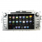 "LsqSTAR 7"" Android Capacitive Screen 2-Din Car DVD Player w/ GPS,Radio,BT,AUX for Ford Mondeo/ Focus"