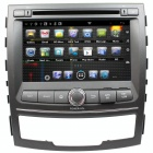 "LsqSTAR 7"" Capacitive Screen Android 4.0 Car DVD w/ GPS Radio BT WiFi SWC AUX for SsangYong Korando"