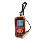 "BENETECH GM280 2.2"" LCD rivestimento spessimetro - giallo + rosso (3 x AAA)"