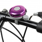 Universal Cycling Bike Bicycle Plastic + Zinc Alloy Bell - Grey + Purple