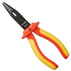 Pro'sKit PM-919 Insulated Long Nose Plier - Red + Yellow (170mm)