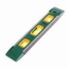 FEIBAO 230mm Magnetic Aluminum Torpedo Level - Green + Yellow + Silver