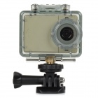 "AT83 2 ""TFT 2/3"" CMOS 5.0MP HD wasserdichte Sport-IP-Kamera w / 4-IR-LED / TF / Mic. - Champagne"