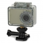 "AT83 2 ""TFT 2/3"" CMOS 5.0MP HD étanche caméra IP Sport w / 4 LED IR / TF / micro.- Champagne"
