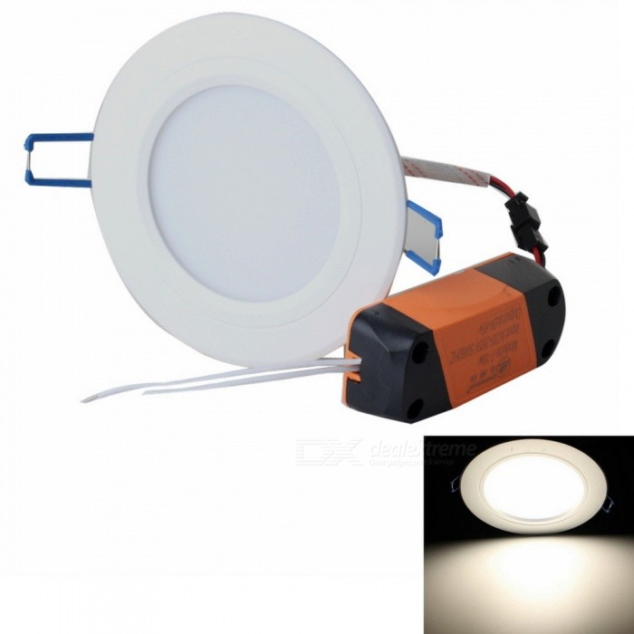 ZHISHUNJIA ZSJ12W-W 12W 800lm 24-SMD 5630 LED Warm White Ceiling Light w/ LED Driver (85~265V)