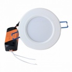 ZHISHUNJIA ZSJ12W-W 12W White 24-SMD LED Ceiling Light w/ Driver
