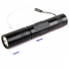 ZHISHUNJIA S5L LED 160lm 5-Mode White Zooming Flashlight - Black (1 x 18650)