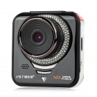 "VST R1 1080P 2.4"" TFT 12.0MP CMOS Wide Angle Car DVR w/ IR Night Vision / TF / G-Sensor - Black"
