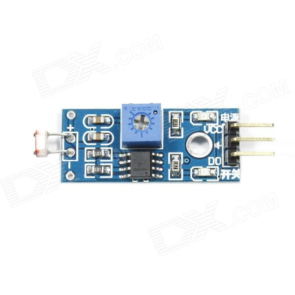 Photoresistor Sensor Module for Arduino (Works with Official Arduino Boards) potentiometer module for arduino works with official arduino boards
