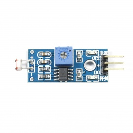 Photoresistor Sensor Module for Arduino (Works with Official Arduino Boards)