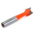 Woodworking Cemented Carbide Forstner Drill Bit Tapper Tool  - Silver Grey + Orange