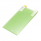 "Universal PET Screen Protector for 3.5"" / 4.0"" / 4.5"" Mobile Phone - Transparent + Green (10 PCS)"